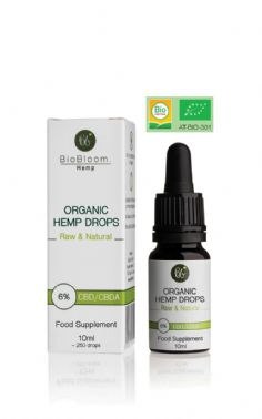 BioBloom Organic Hemp Drops 6% 10ml